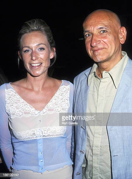 Alexandra Christmann and Ben Kingsley during Private Screening of 'Triumph Of Love' at Sweetlands in New York City New York United States