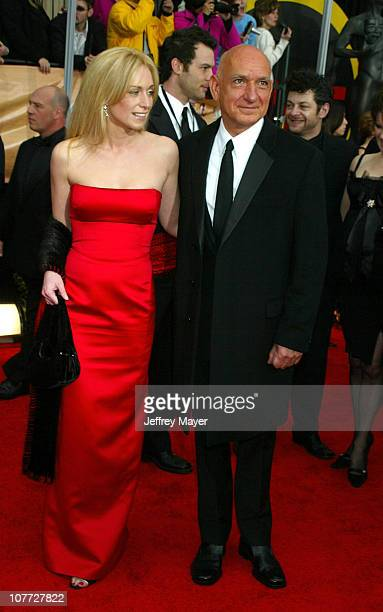 Alexandra Christmann and Sir Ben Kingsley during 10th Annual Screen Actors Guild Awards - Arrivals at Shrine Auditorium in Los Angeles, California,...