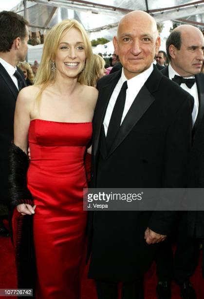 Alexandra Christmann wearing Erica Courtney earrings with Ben Kingsley