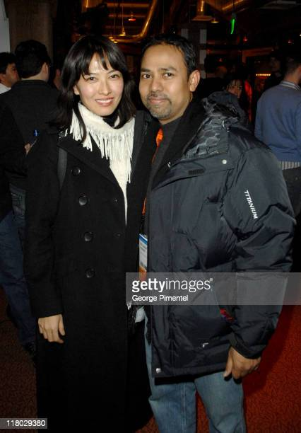 Alexandra Chun and Munawar Hussain during 2007 Sundance Film Festival PC Opening Night Party at Legacy Lodge in Park City Utah United States