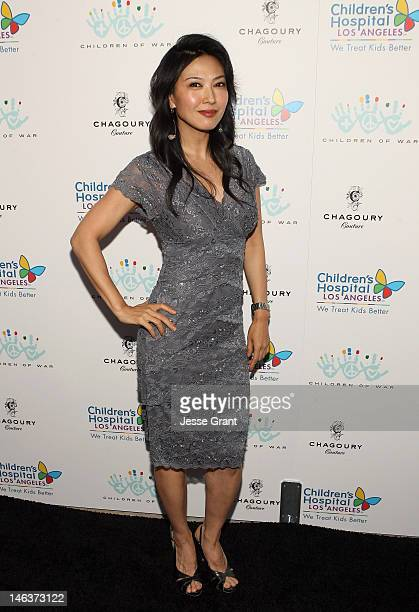 Alexandra Chun attends the Chagoury Couture Fashion Show and Annual Benefit for The Children of War Foundation at Chagoury Couture on June 14 2012 in...