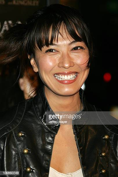 Alexandra Chun during BloodRayne Los Angeles Premiere Arrivals at Mann's Chinese in Hollywood California United States