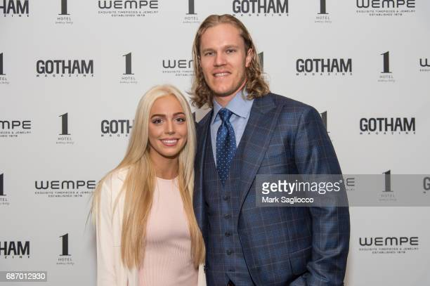 Alexandra Cooper and New York Mets Pitcher Noah Syndergaard attend Gotham Magazine's Celebration of it's Late Spring Issue with Noah Syndergaard at 1...