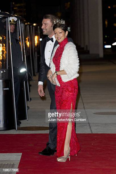 ** ** Alexandra Countess Of Frederiksborg And Husband Martin JorgensenAttends Gala Performance At The Concert Hal Of The Danish Broadcasting...