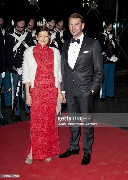 ** ** Alexandra Countess Of Frederiksborg And Martin Joergensen At A Gala Performance In The Dr Concert Hall To Celebrate 40 Years On The Throne Of...