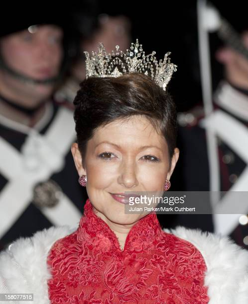 ** ** Alexandra Countess Of Frederiksborg At A Gala Performance In The Dr Concert Hall To Celebrate 40 Years On The Throne Of Queen Margrethe Ii Of...