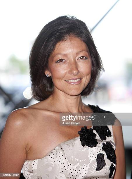 Alexandra Countess Of Frederiksborg Attends A Reception And Concert At Copenhagens Concert Hall As Part Of The 75Th Birthday Celebrations Of Prince...