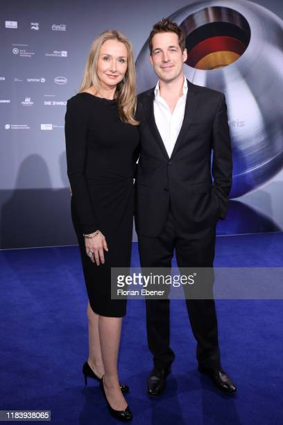 Alexandra Cousteau and Fritz Neumeyer attends the German Sustainability Award at Maritim Hotel on November 22, 2019 in Duesseldorf, Germany.
