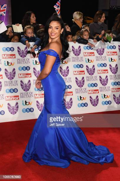 Alexandra Crane attends the Pride of Britain Awards 2018 at The Grosvenor House Hotel on October 29 2018 in London England