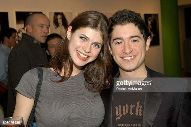 Alexandra Daddario and Jason Fuchs attend Private Holiday Soiree Benefiting Operation Smile at Milk Gallery on December 6 2006 in New York City