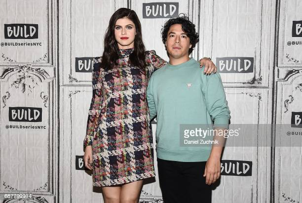 Alexandra Daddario and Jon Bass attend the Build Series to discuss the new film 'Baywatch' at Build Studio on May 24 2017 in New York City