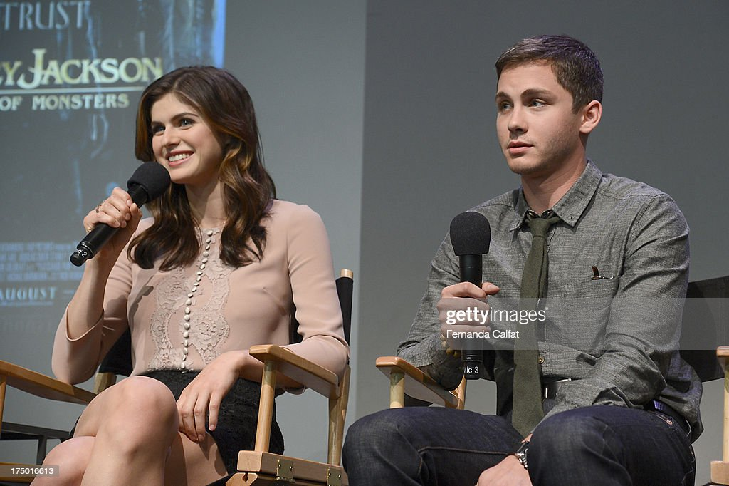"""Apple Store Soho Presents: Meet The Filmmakers - """"Percy Jackson: Sea Of Monsters"""" : News Photo"""