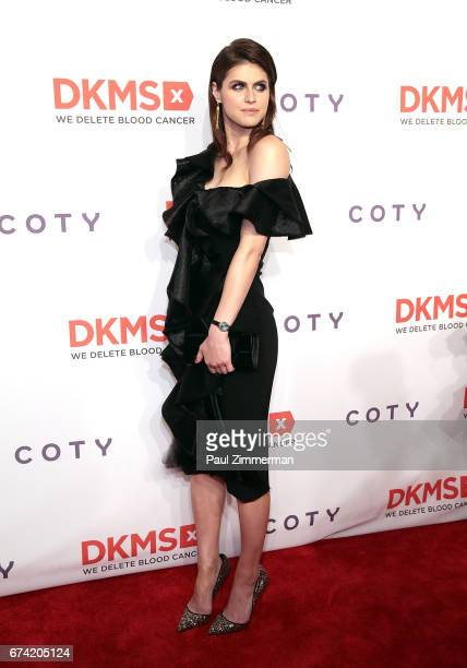 Alexandra Daddario attends the 11th Annual DKMS Big Love Gala at Cipriani Wall Street on April 27 2017 in New York City