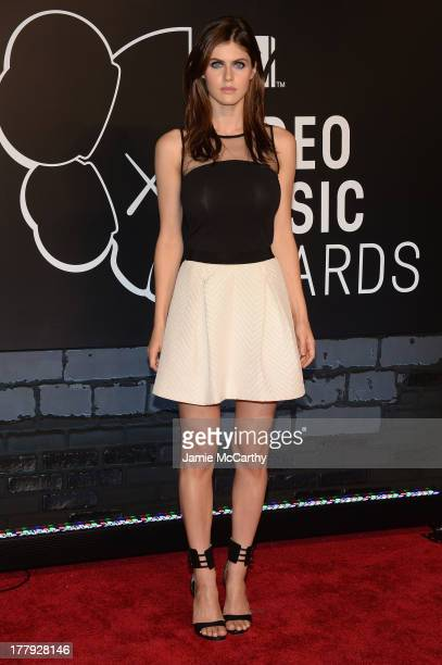 Alexandra Daddario attends the 2013 MTV Video Music Awards at the Barclays Center on August 25, 2013 in the Brooklyn borough of New York City.