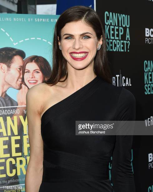 Alexandra Daddario attends the Los Angeles Special Screening of Can You Keep A Secret on August 28 2019 in Hollywood California