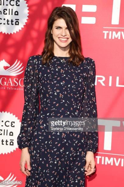Alexandra Daddario attends the photocall of the movie Can You Keep A Secret during the Alice nella Città Festival on October 19 2019 in Rome Italy