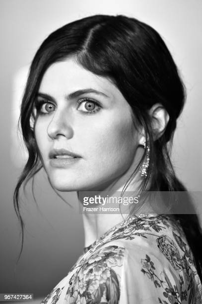 Alexandra Daddario attends the Premiere Of Disney Pictures And Lucasfilm's 'Solo A Star Wars Story' on May 10 2018 in Los Angeles California