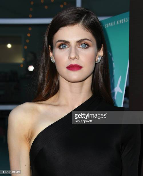 Alexandra Daddario attends the Premiere Of Vertical Entertainment's Can You Keep A Secret at ArcLight Hollywood on August 28 2019 in Hollywood...