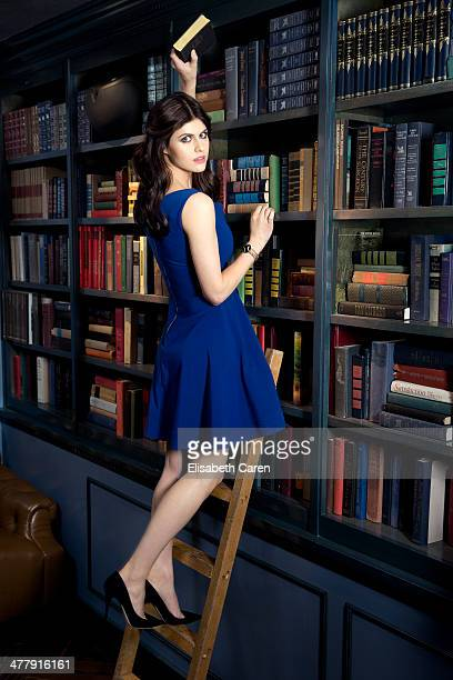 Alexandra Daddario for Gotham Magazine on December 8 2013 in Los Angeles California PUBLISHED IMAGE