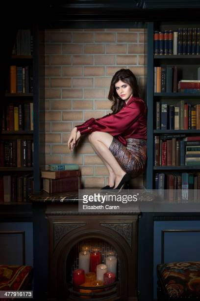 Alexandra Daddario for Gotham Magazine on December 8, 2013 in Los Angeles, California. PUBLISHED IMAGE.