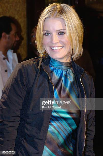 Alexandra Davies attends the opening night of the Sydney Film Festival at the State Theatre June 10 2005 in Sydney Australia