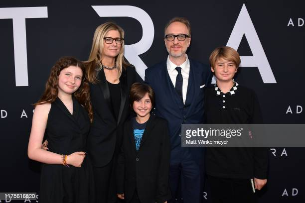 """Alexandra Dickson Gray and James Gray attend the premiere of 20th Century Fox's """"Ad Astra"""" at The Cinerama Dome on September 18, 2019 in Los Angeles,..."""