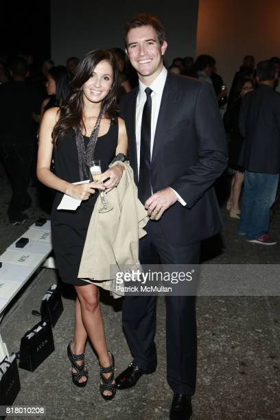 Alexandra Dillard and Craig Lucie attend CYNTHIA STEFFE Spring 2011 Fashion Show at Eyebeam on September 12 2010 in New York City