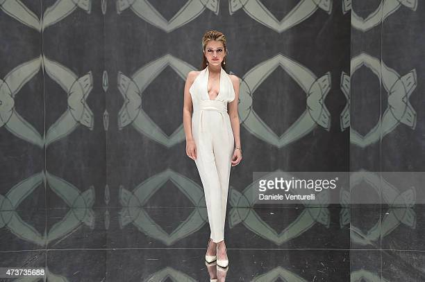 Alexandra Dinu attends the Ischia Global Festival Photocall during the 68th annual Cannes Film Festival on May 17 2015 in Cannes France