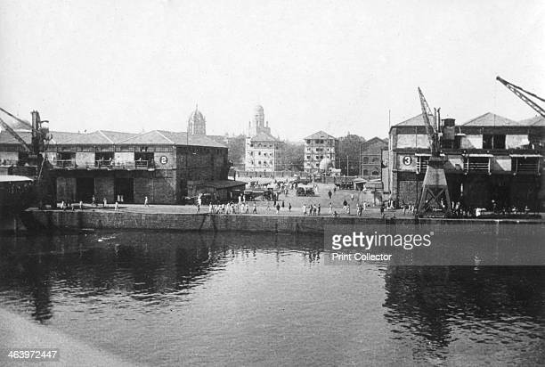 Alexandra Dock Bombay India 1917