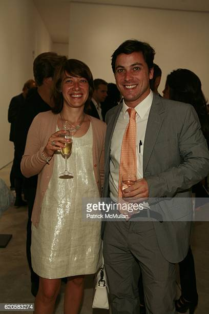 Alexandra Duhan and Remi Brabant attend LOUIS XIII Celebrates WALLPAPER'S Guest Editor LOUISE BOURGEOISE with HELMUT LANG at Cheim Reid and...