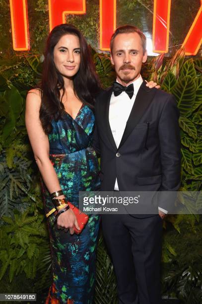Alexandra Escat and Jasper Pääkkönen attend the Netflix 2019 Golden Globes After Party on January 6 2019 in Los Angeles California
