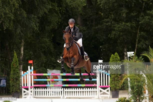 Alexandra FRANCART sur Lauraise du Rietz - - COS - Grand Prix International de Verquigneul,