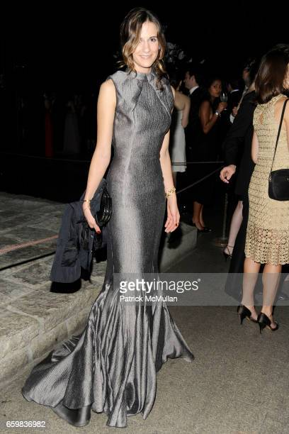 Alexandra Fritz attends Apollo Circle Benefit 2009 Sponsored by Carolina Herrera at The Metropolitan Museum of Art on November 12 2009 in New York...