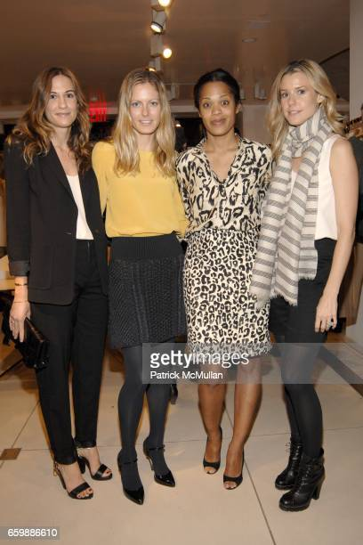 Alexandra Fritz Ferebee Taube Bonnie Morrison and Eleanor Ylvisaker attend CHLOE VOGUE Host a Preview of the Spring/Summer 2010 Collection at Chloe...