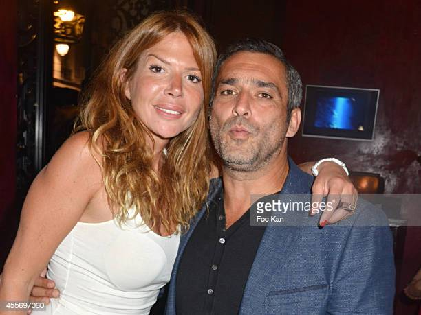 Alexandra Genoves and Jean Pierre Martins attend the Buddha Bar 18th Anniversary Party on September 18 2014 in Paris France
