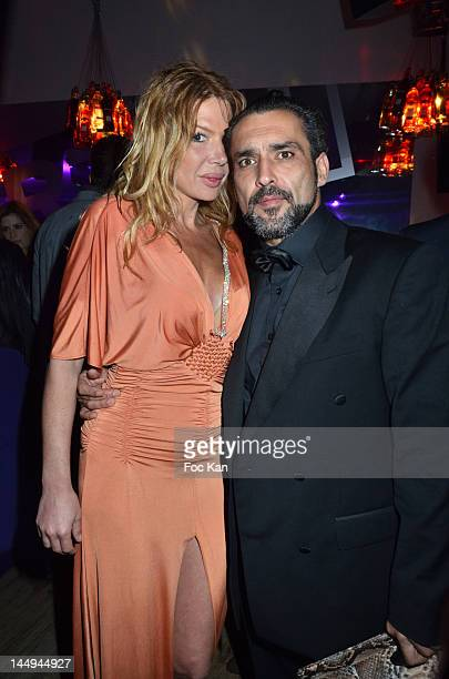 Alexandra Genoves and Jean Pierre Martins attend the Citizen K 20th Anniversary Cocktail 65th Annual Cannes Film Festival At La Terrazza Martini on...