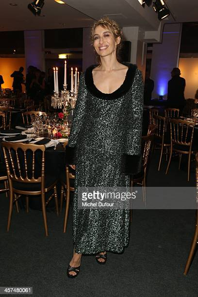 Alexandra Golovanoff attends the Annual Charity Dinner Hosted By The AEM Association Children Of The World For Rwanda on December 17 2013 in Paris...