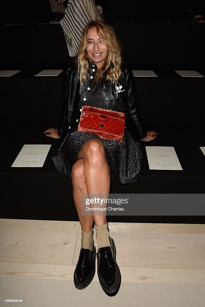 Nina Ricci : Front Row - Paris Fashion Week Womenswear Spring/Summer 2015