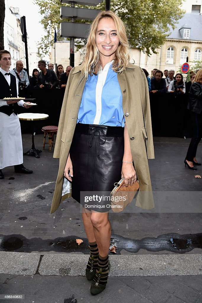 Sonia Rykiel  : Outside Arrivals - Paris Fashion Week Womenswear Spring/Summer 2015
