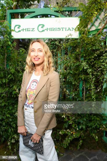 Alexandra Golovanoff attends the Welcome Dinner of the Christian Dior Couture S/S 2019 Cruise Collection on May 24 2018 in Paris France
