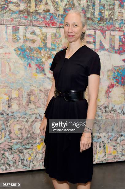 Alexandra Grant attends LACMA Director's Circle Celebrates The Wear LACMA Spring 2018 Collection With Designs By LFrank and THEGREAT at LACMA on June...