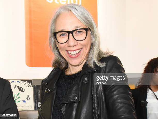 Alexandra Grant attends the Shadow Book signing on Steidle stand as part of Paris Photo 2017 Day Two At Le Grand Palais on November 10 2017 in Paris...