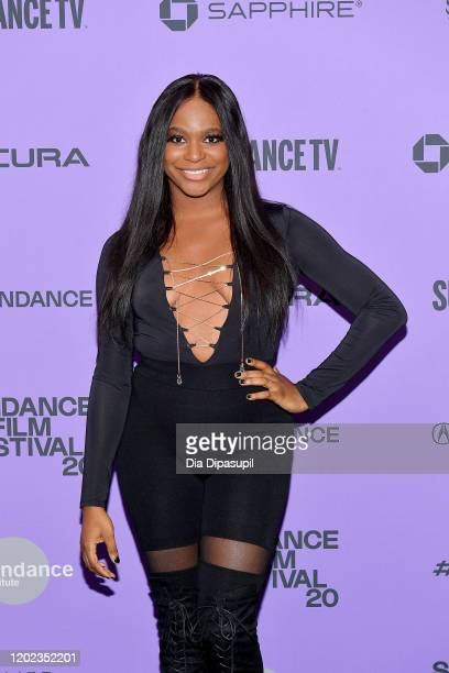 Alexandra Grey attends the 2020 Sundance Film Festival Disclosure Trans Lives On Screen Premiere at The Marc Theatre on January 27 2020 in Park City...