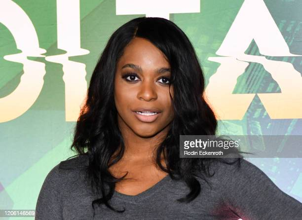 Alexandra Grey attends the Cirque Du Soleil VOLTA Equality Night Benefiting Los Angeles LGBT Center at Dodger Stadium on February 13 2020 in Los...
