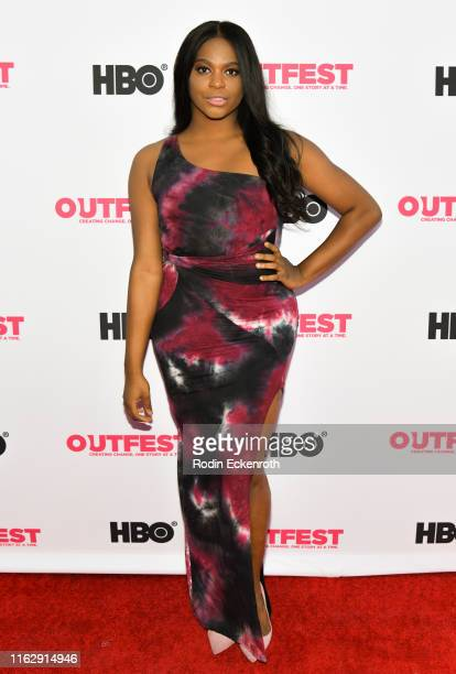 Alexandra Grey attends the Outfest Los Angeles LGBTQ Film Festival Opening Night Gala premiere of Circus Of Books at Orpheum Theatre on July 18 2019...