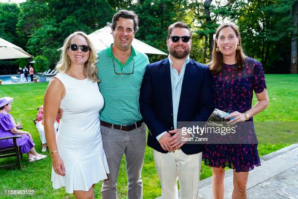 Alexandra Hall Tim DiPietro R Fletcher Hall and Christina Teagle attend A Country House Gathering To Benefit Preservation Long Island on June 28 2019...