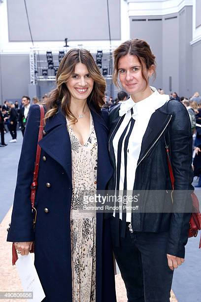 Alexandra HallydayPastor and her sister Emilie Pastor attend the Chloe show as part of the Paris Fashion Week Womenswear Spring/Summer 2016 Held at...