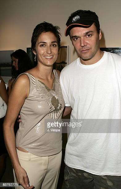 Alexandra Hedison and David LaChapelle