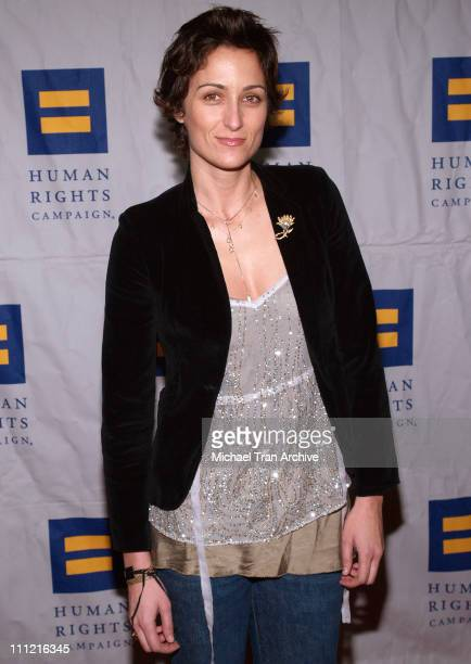 Alexandra Hedison during The L Word Third Season Los Angeles Premiere Arrivals at Avalon Nightclub in Hollywood California United States