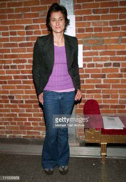 Alexandra Hedison during VDay West LA 2006 Benefit Production of Eve Ensler's The Vagina Monologues Show and After Party at The Actors Gang Theatre...